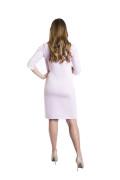 Kleid Yemanja mom rosa, Model Kasia (1,70m, Gr.34, im 8. Monat schwanger)