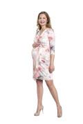 Kleid Frejya, Model Kasia (1,70 m, Gr. 34, im 8. Monat schwanger)