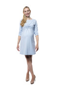 Kleid Galatea hellblau, Model Nadja (1,70 m,Gr.34)