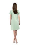 Kleid Kleid Yemanja lindgrün, Model Rosie (1,56 m, Gr.32 petite)