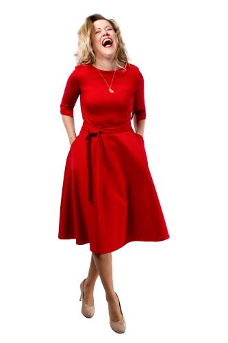 Kleid Maya, Gr. 34 Model Sabine, 1,66m