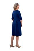 Kleid Fortuna blau, Model Susanne (Gr. 40long, 1,80 m)