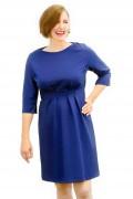 Kleid Aurora blau, Model Susanne (1,80, Gr.42)