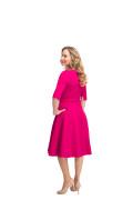 Kleid Maya pink, Model Steffi (1,69 m, Gr.34)