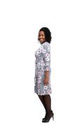 Kleid Frejya, Model Gifty (1,60 m, Gr.40 petite)