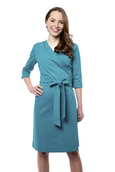 Kleid Epona smaragdgrün, Model Rosie (1,56 m, Gr.32 petite)
