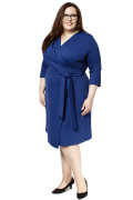 Kleid Epona blau, Model Jasmin (1,75m, Gr.48 long)