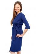 Kleid Epona blau, Model Kasia (1,70, Gr.34)